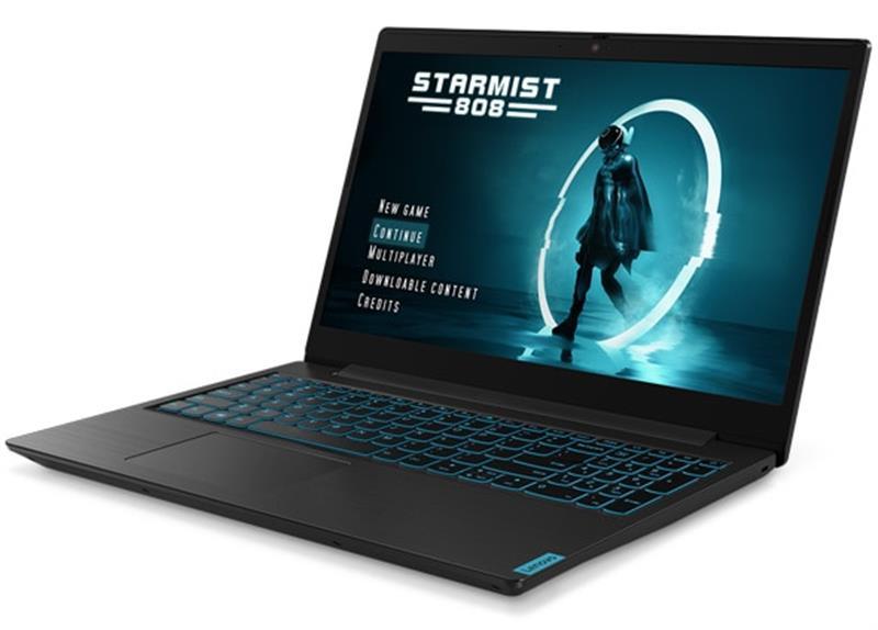 "Ноутбук Lenovo Ideapad L340-15IRH Gaming (81LK01JPRA); 15.6"" FullHD (1920x1080) IPS LED матовый / Intel Core i5-9300H (2.4 - 4.1 ГГц) / RAM 8 ГБ / HDD 1 ТБ / nVidia GeForce GTX1050, 3 ГБ / нет ОП / LAN / Wi-Fi / Bluetooth / веб-камера / DOS / 2.19 кг / че"