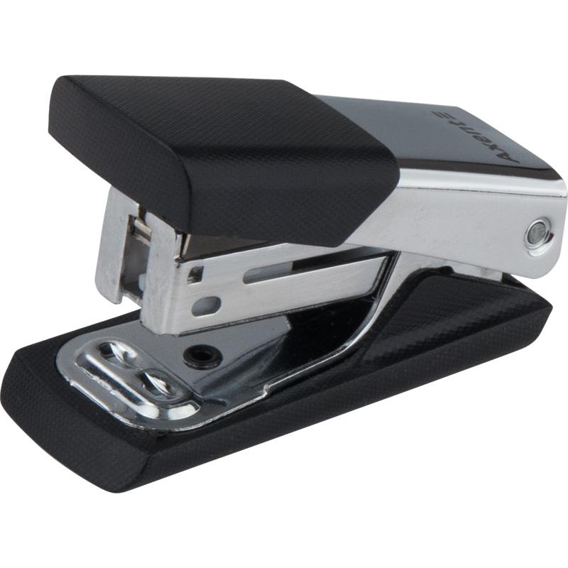 Степлер Axent Technic скобы №24 / 6 до 15 листов металлический черный (4935-a)