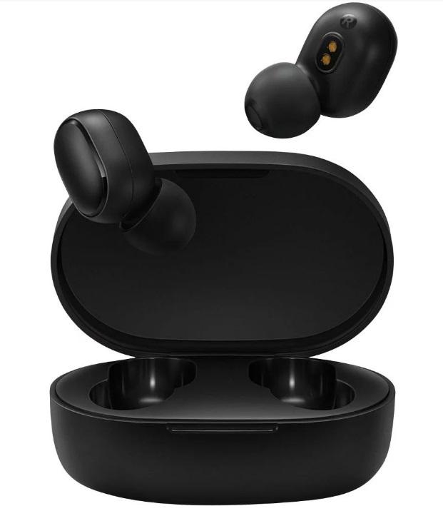 Bluetooth-гарнитура Xiaomi Mi True Wireless Earbuds Basic 2 (Redmi Airdots 2) Black (BHR4272GL)
