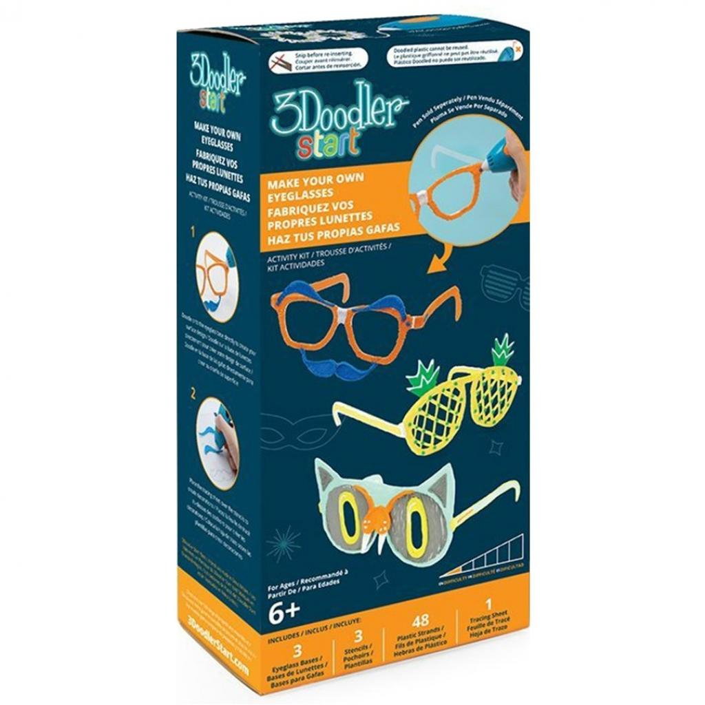 Стержень для 3D-ручки 3Doodler Набор аксессуаров для 3D-ручки 3Doodler Start Модные очки (8SMKEYEG3R)