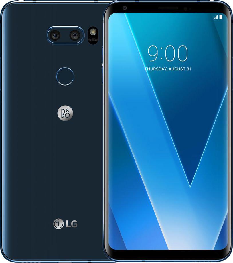 Смартфон LG V30 V300L 64GB One sim Maroccan Blue