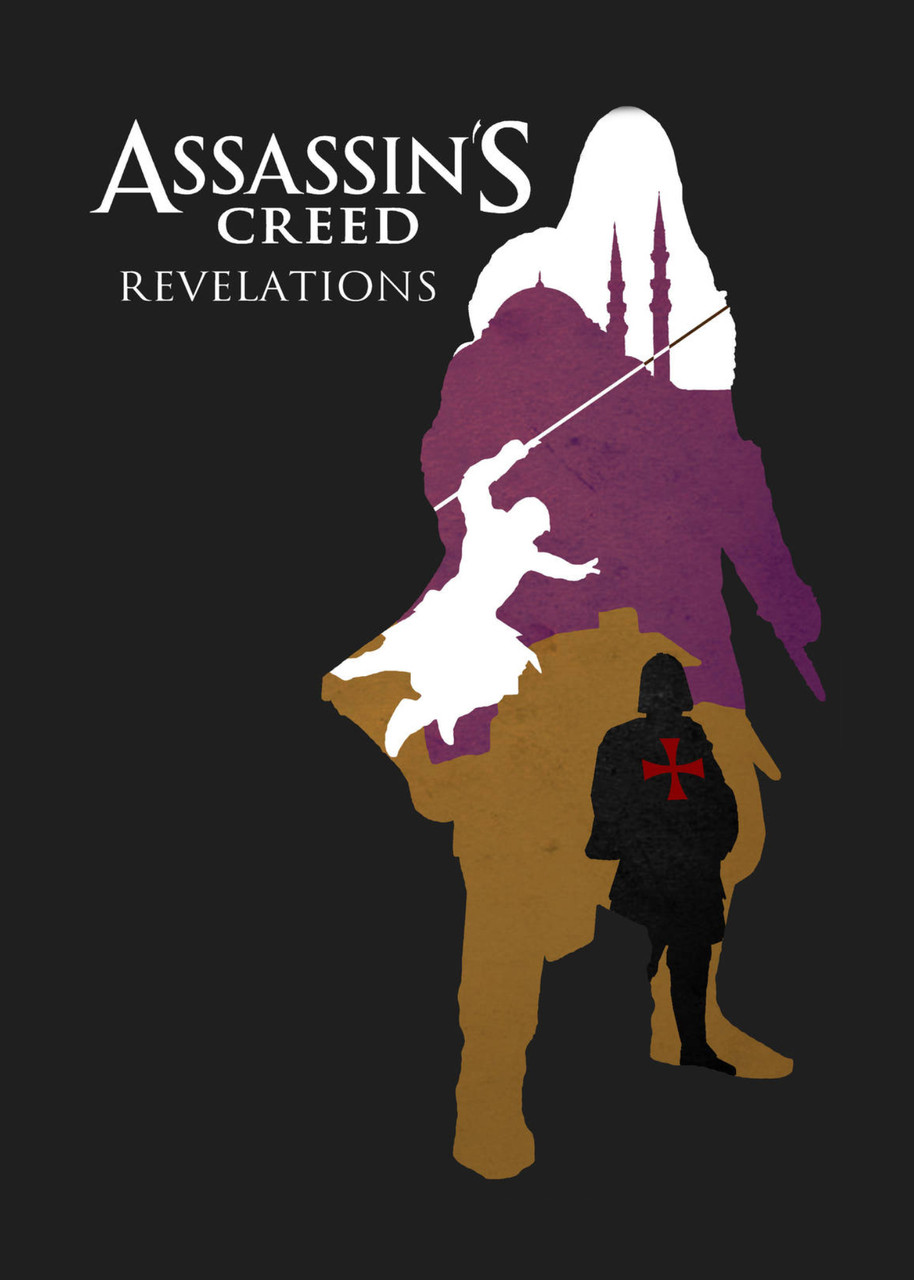 Картина GeekLand Assassins Creed Кредо ассасина минимализм (40х60 см) AC.09.085 (FU21AC.09.085)