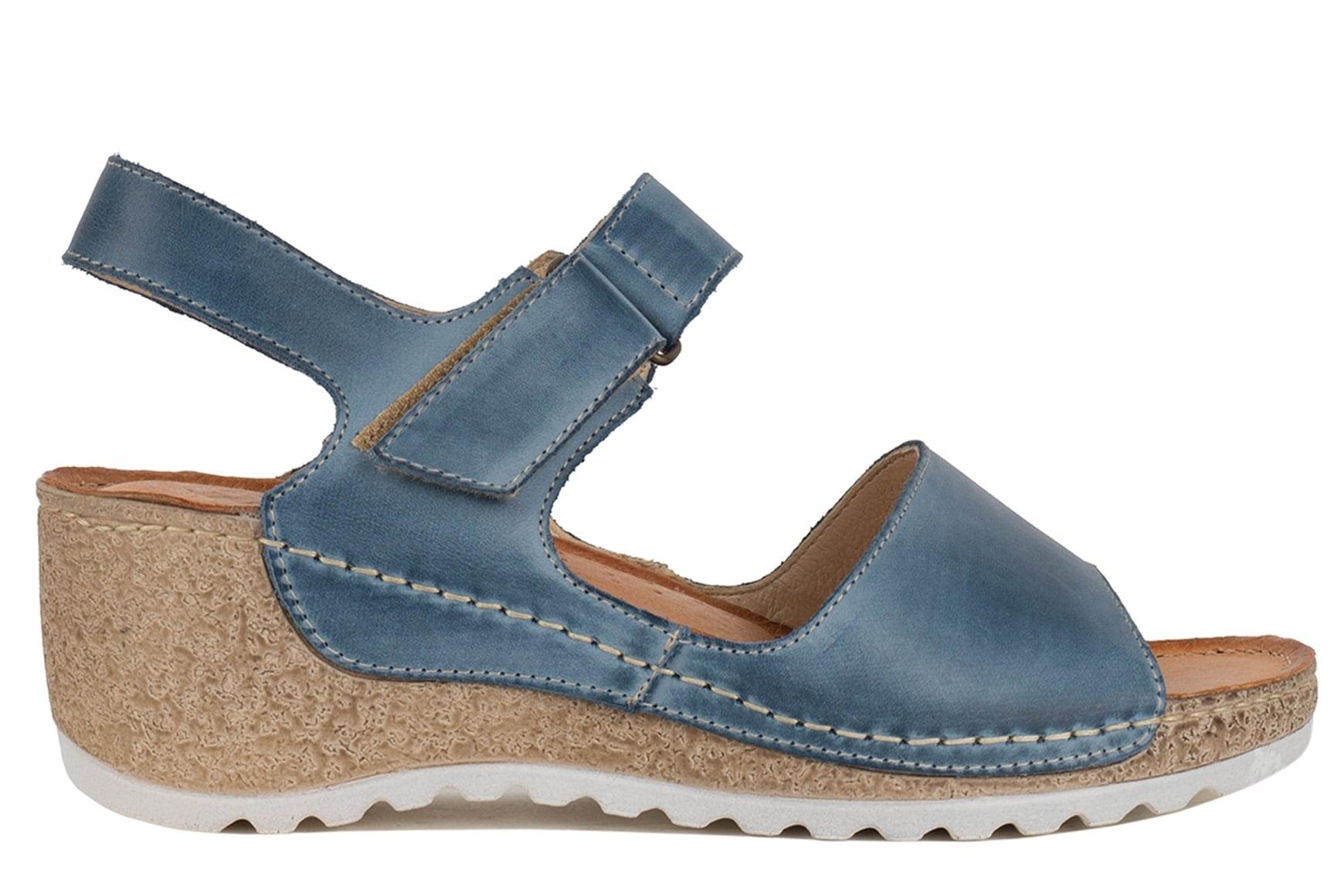 Сандалии Wasak 0474 jeans Джинсовые 41 (2960440091717)