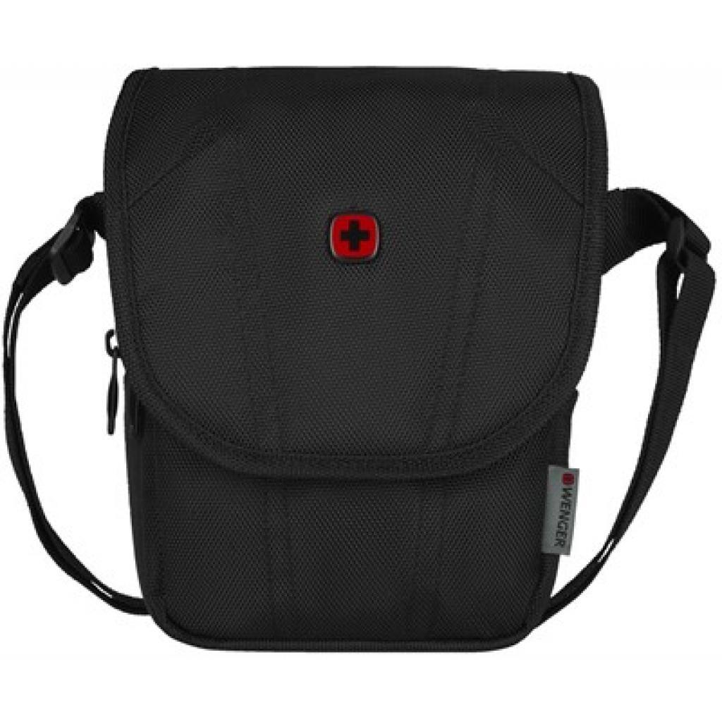 """Сумка для ноутбука Wenger 10"""" Flapover Crossbody Bag, BC High, Black (610176)"""
