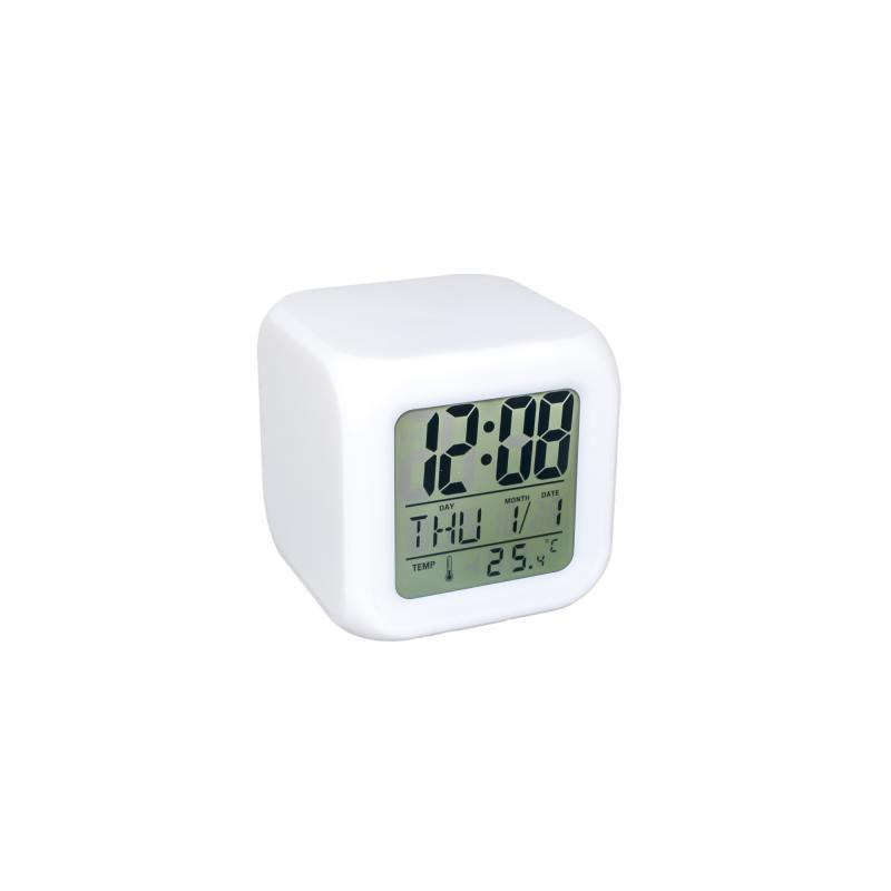 Supretto / Часы ночник COLOR CHANGING CLOCK (CZ27C253)