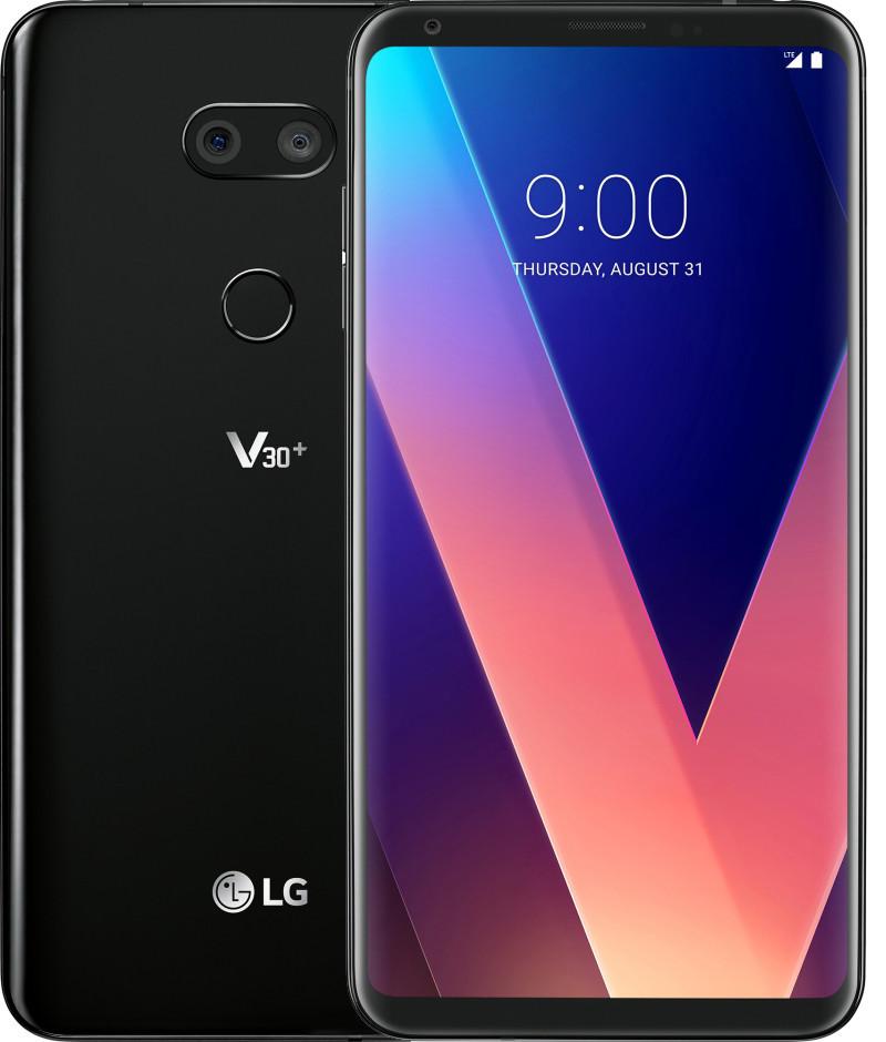 Смартфон LG V30+ V300L 128GB One Sim Aurora Black(US998)
